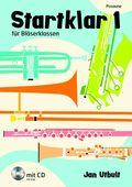 Startklar für Bläserklassen, Orchester und Ensemble, Posaune, m. Audio-CD - Bd.1