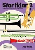 Startklar für Bläserklassen, Orchester und Ensemble, Posaune, m. Audio-CD - Bd.2