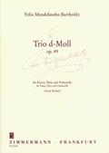 Trio d-Moll op. 49. Flöte, Violoncello und Klavier, Partitur und Stimmen