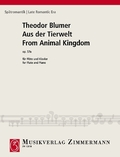 Aus der Tierwelt op. 57a, Flöte und Klavier