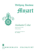 Andante C-Dur mit Kadenz KV 315, Flöte und Klavier