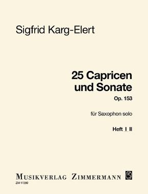 25 Capricen und Sonate
