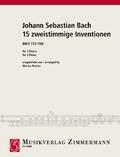 15 zweistimmige Inventionen BWV 772-786