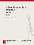 Suite Nr. 1 BWV 1007, Gitarre