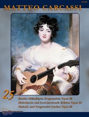 25 Etudes Mélodiques Progressives