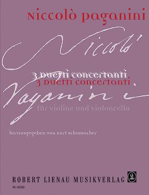 3 Duetti concertanti, Violine und Violoncello