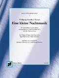 Eine kleine Nachtmusik, Flöten-Ensemble, Partitur und Stimmen
