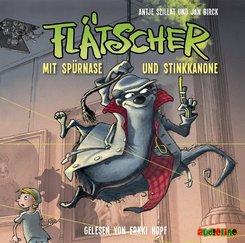 Flätscher - Mit Spürnase und Stinkkanone, 1 Audio-CD