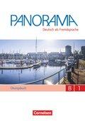 Panorama - Deutsch als Fremdsprache: Übungsbuch DaF, Gesamtband, m. Audio-CD; Bd.B1