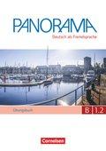 Panorama - Deutsch als Fremdsprache: Übungsbuch DaF mit Audio-CD; Bd.B1.2 - Tl.2
