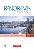 Panorama - Deutsch als Fremdsprache: Leben in Deutschland, Übungsbuch DaZ, m. Audio-CD; Bd.B1.2 - Tl.2