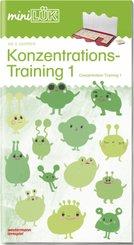 miniLÜK: Konzentrationstraining 1; Concentration Training 1