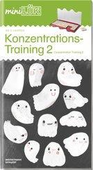 miniLÜK: Konzentrationstraining 2; Concentration Training 2