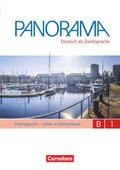 Panorama - Deutsch als Fremdsprache: Leben in Deutschland, Übungsbuch DaZ, Gesamtband, m. Audio-CD; Bd.B1