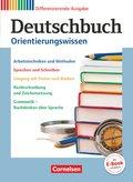 Deutschbuch - Zu allen differenzierenden Ausgaben, 5.-10. Schuljahr, Orientierungswissen