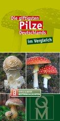 Die giftigsten Pilze Deutschlands im Vergleich, Bestimmungskarten