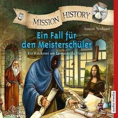 Mission History - Ein Fall für den Meisterschüler, 2 Audio-CDs