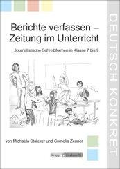 Berichte verfassen - Zeitung im Unterricht, m. Audio-CD