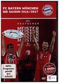 FC Bayern München - Die Saison 2016/17, 2 DVDs