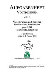 Aufgabenheft - Voltigieren 2018 (Nationale Aufgaben)