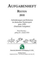 Aufgabenheft Reiten 2018 (Nationale Aufgaben)