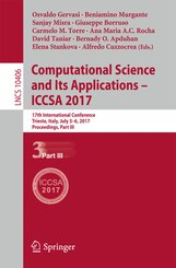 Computational Science and Its Applications - ICCSA 2017