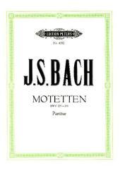 Motetten für 4- bis 8-stimmigen gemischten Chor BWV 225-231