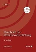 Handbuch der Urteilsveröffentlichung (f. Österreich)
