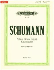 Album für die Jugend op. 68 / Kinderszenen op. 15, für Klavier