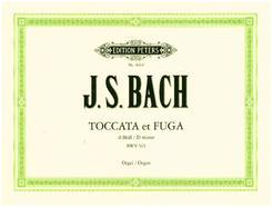Toccata und Fuge d-Moll BWV 565, für Orgel