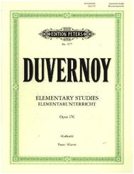 Elementarunterricht für Anfänger op. 176, Klavier