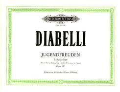 Jugendfreuden op. 163, 6 Sonatinen für Klavier zu 4 Händen