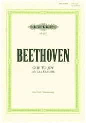 An die Freude -Finalsatz der Sinfonie Nr. 9 d-Moll op. 125-