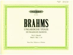 Ungarische Tänze, für Klavier zu 4 Händen - Bd.1