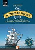 Mann singt. 10 Songs of the Sea, für 2-stimmingen Männerchor (TB) und Klavier