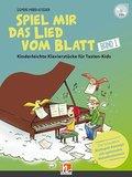 Spiel mir das Lied vom Blatt, m. 1 Audio-CD - Bd.1