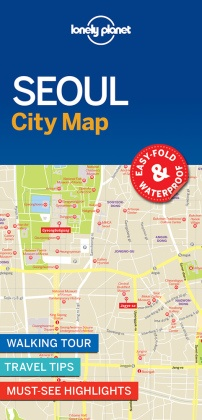 Lonely Planet Seoul City Map