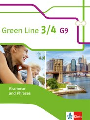 Green Line G9, Ausgabe ab 2015: 7./8. Klasse, Grammar and Phrases; .3/4