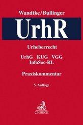 Praxiskommentar zum Urheberrechtsgesetz (UrhR)