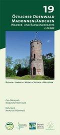 Odenwald Freizeitkarte Östlicher Odenwald - Madonnenländchen