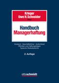 Handbuch Managerhaftung