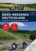 Motorrad Reisebuch Biker Weekends Deutschland