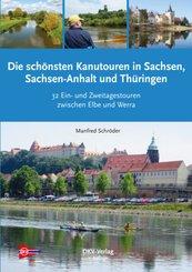 Die schönsten Kanu-Touren in Sachsen, Sachsen-Anhalt und Thüringen