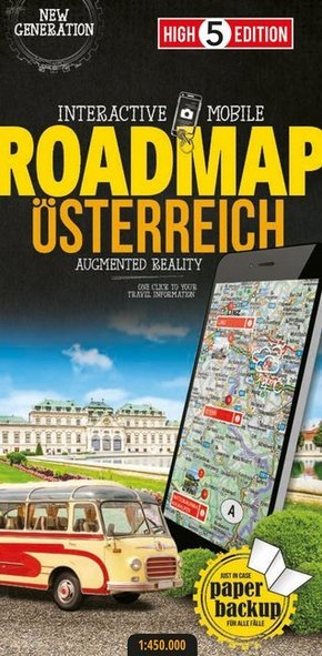 High 5 Edition Interactive Mobile Roadmap Österreich; Austria