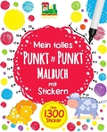 Mein tolles Punkt-zu-Punkt-Malbuch mit Stickern