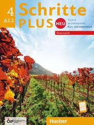 A2.2 - Kursbuch + Arbeitsbuch mit Audio-CD