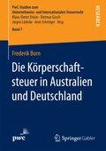 Die Körperschaftsteuer in Australien und Deutschland