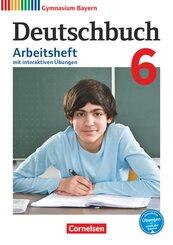 Deutschbuch, Gymnasium Bayern, Neubearbeitung: 6. Jahrgangsstufe, Arbeitsheft mit interaktiven Übungen auf scook.de