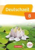 Deutschzeit, Allgemeine Ausgabe: 8. Schuljahr, Schülerbuch