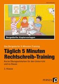 Täglich 5 Minuten Rechtschreib-Training - 2. Klasse